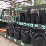 large pots and garden supplies from hedgehogs nursery