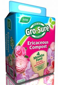 gro sure ericaceous compost