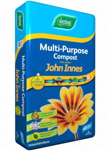 multi purpose compost for spring gardens