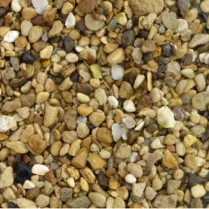 Golden Flint garden gravel